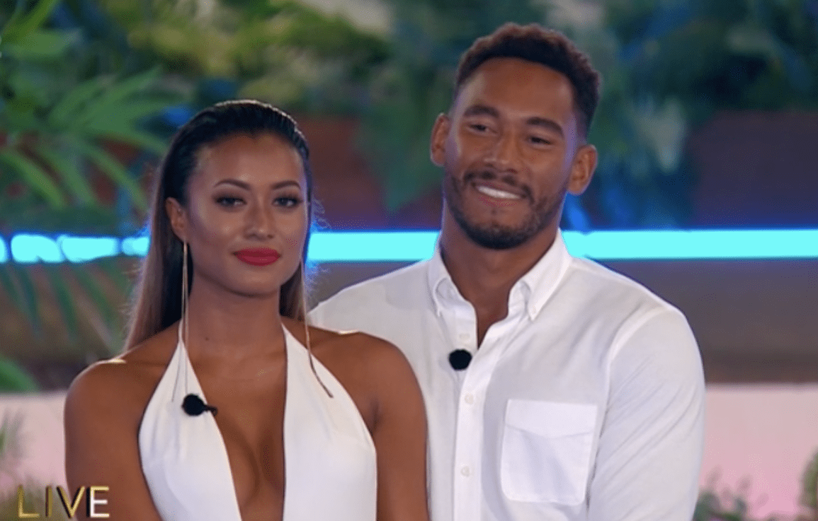 Kaz and Josh come 3rd place on Love Island
