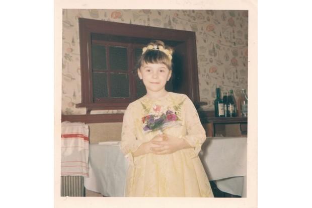 A young Shirley Ballas