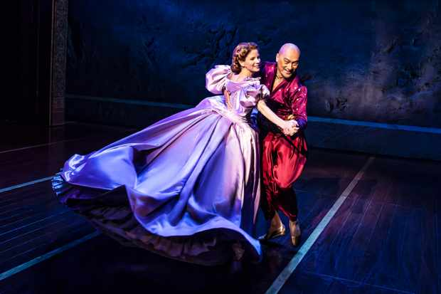 THE KING AND I - KELLI O'HARA AND KEN WATANABE- CREDIT - MATTHEW MURPHY