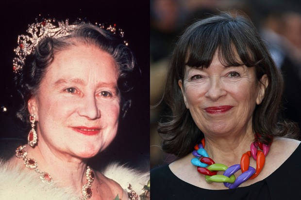 The Crown - Marion Bailey and the Queen Mother