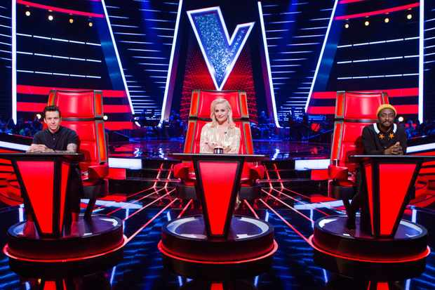 The Voice Kids - Danny Jones, Pixie Lott, will.i.am