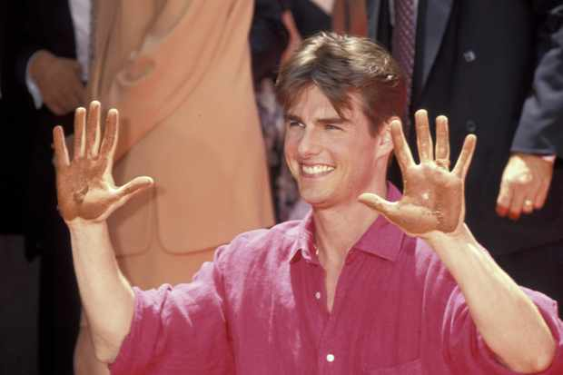 00f3ca18094 Tom Cruise during Tom Cruise Hand and Footprint Ceremony at Mann s Chinese  Theatre at Mann s Chinese