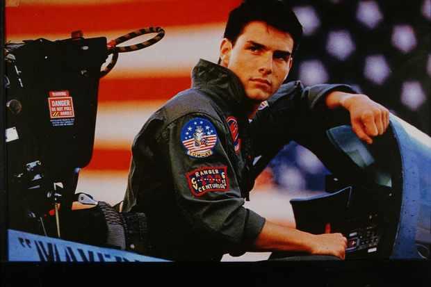 (GERMANY OUT) Tom Cruise, Schauspieler, USA, - als Pete Mitchell im Film `Top Gun'; R: Tony Scott, - USA 1985   (Photo by Röhnert/ullstein bild via Getty Images)