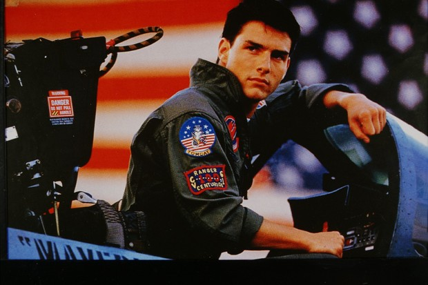 (GERMANY OUT) Tom Cruise, Schauspieler, USA, - als Pete Mitchell im Film `Top Gun'; R: Tony Scott, - USA 1985   (Photo by Röhnert/ullstein bild via Getty Images)