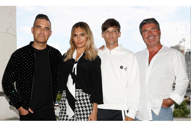 The X Factor judges 2018: Robbie Williams, Ayda Field, Louis Tomlinson, Simon Cowell