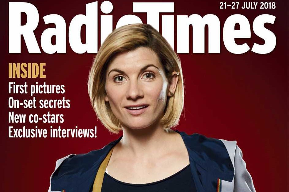 Jodie Whittaker as the Doctor (RT, HF)