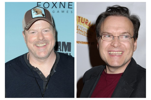 John DiMaggio and Billy West