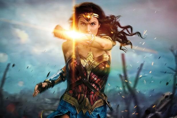 Gal Gadot in Wonder Woman 2017