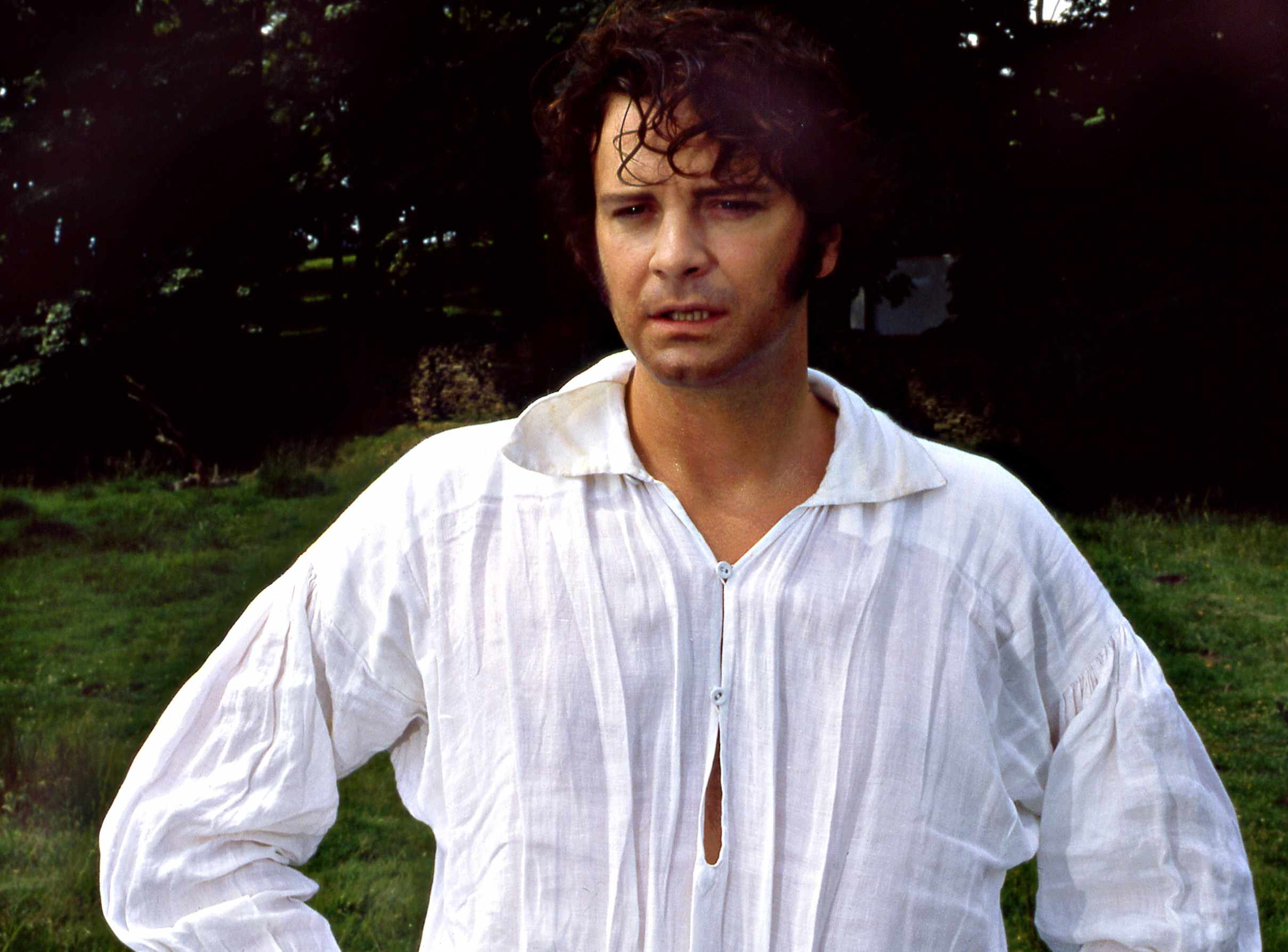 Colin Firth as Mr Darcy in the BBC's classic Pride and Prejudice (BBC)