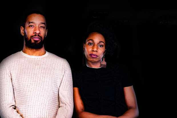 Grenfell survivors Jason Miller and Corinne Jones (C4)