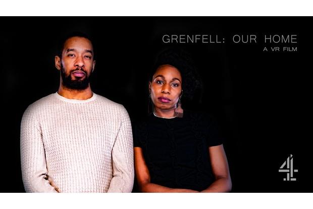 Grenfell survivors Jason Miller and Corinne Jones (C4)