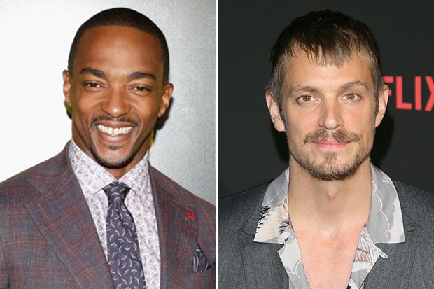 Anthony Mackie and Joel Kinnaman, Getty, SL