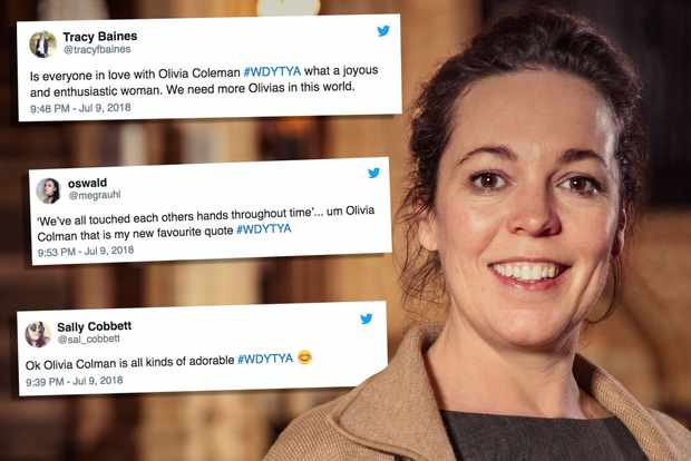Olivia Colman in Who Do You THink You Are?