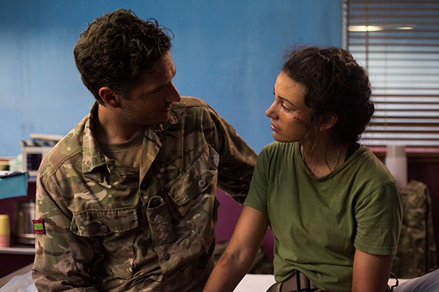 Michelle Keegan and Ben Aldridge in Our Girl, BBC Pictures, SL