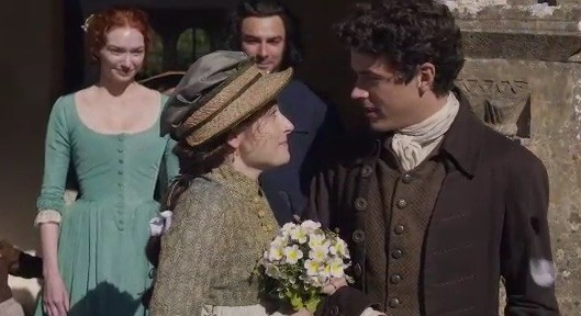 poldark s 4 Morwenna and drake marry