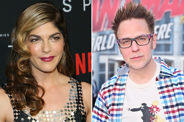 Selma Blair and James Gunn, Getty, SL