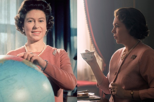 The Crown: Olivia Colman and Queen Elizabeth II