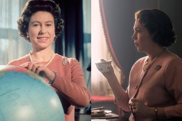 The Crown: Olivia Colman and Queen Elizabeth II