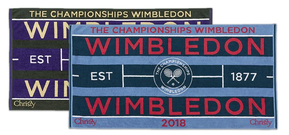 wimbledon towels banner