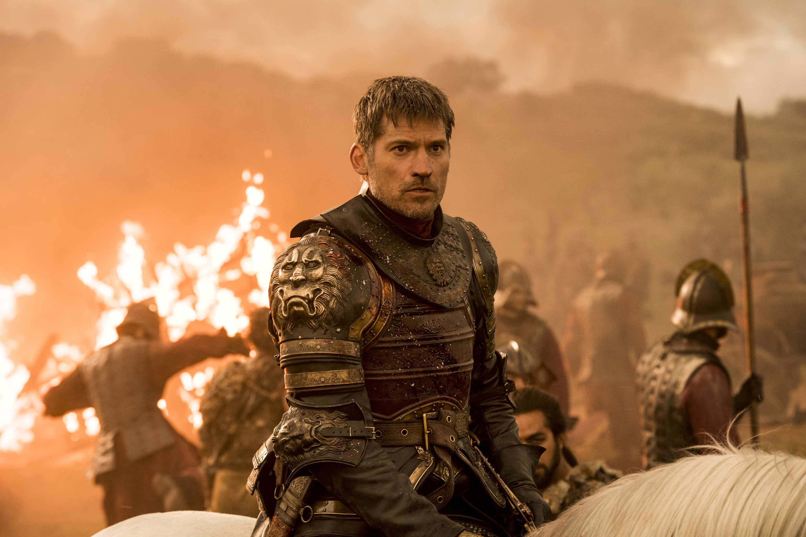 Nikolaj Coster-Waldau as Jaime Lannister (HBO, Sky pics, TL)