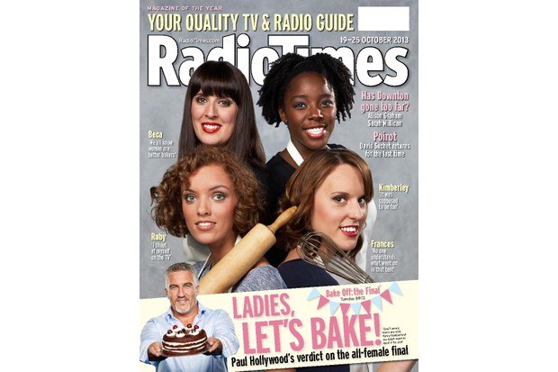Kimberley, top-right (Radio Times archive)