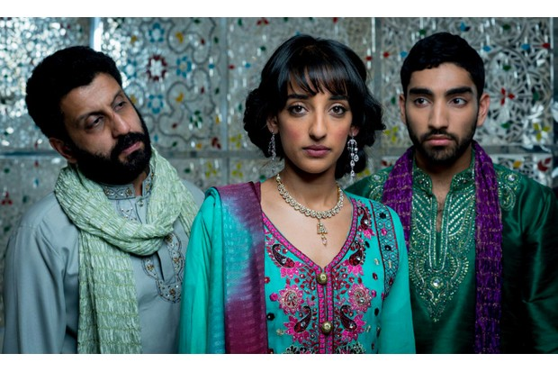 A promotional image from Vinay Patel's Murdered by My Father (BBC, HF)