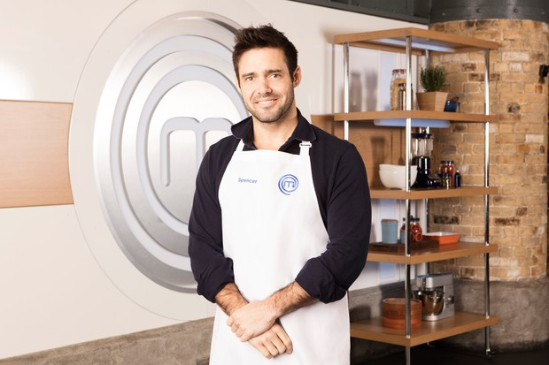 WARNING: Embargoed for publication until 00:00:01 on 16/05/2018 - Programme Name: Celebrity Masterchef S13 - TX: n/a - Episode: Press Release (No. Press Release) - Picture Shows: **STRICTLY EMBARGOED UNTIL 00:01 HRS ON WEDNESDAY 16TH MAY 2018** Spencer Matthews - (C) Shine TV - Photographer: Production