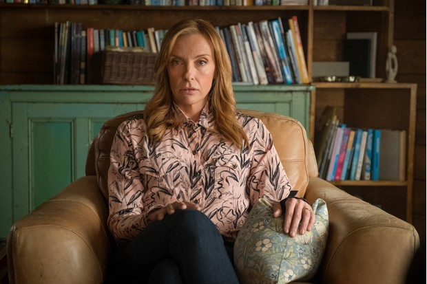 Toni Collette in Wanderlust