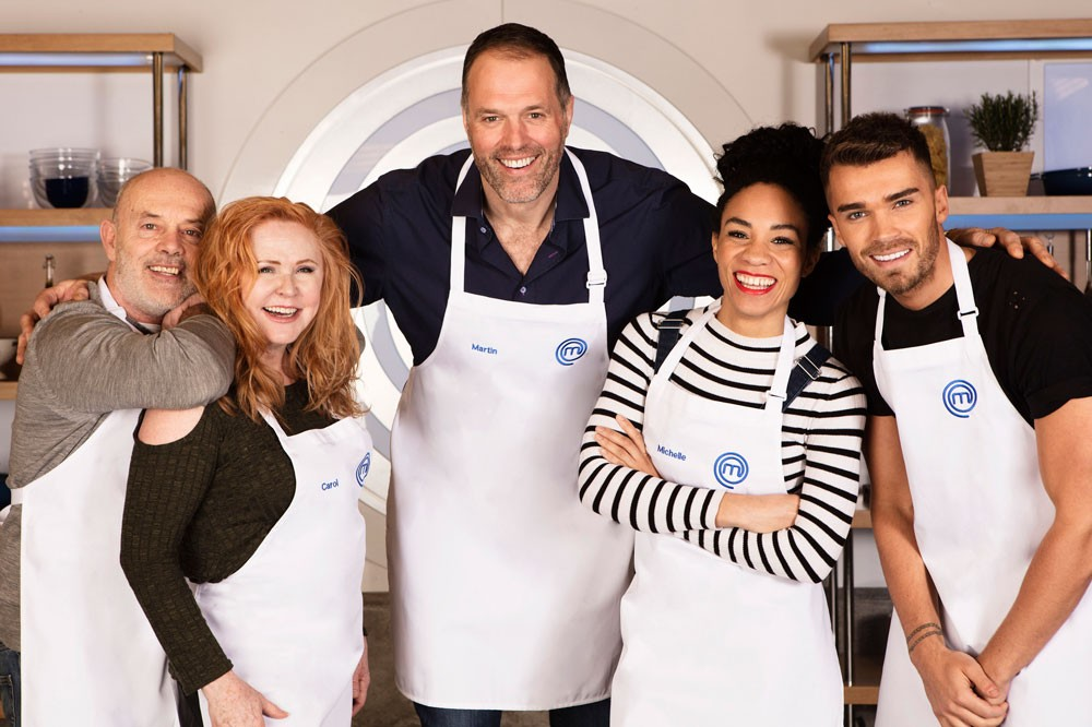 Celebrity Masterchef heat 1 (BBC)
