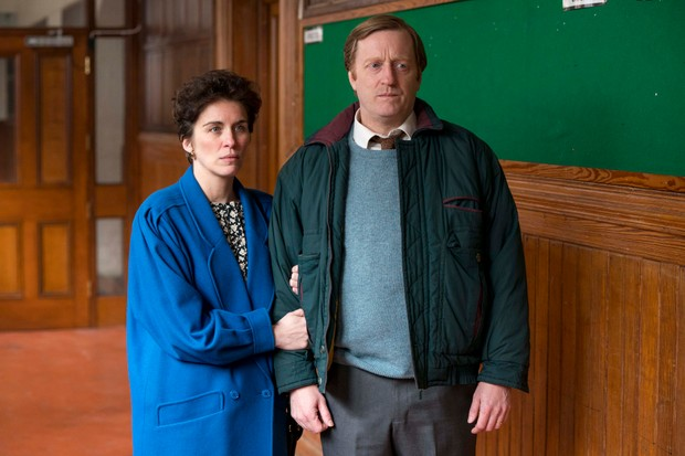 Vicky McClure and David Wilmot as Susan and Arthur McHugh in Mother's Day (BBC, EH)