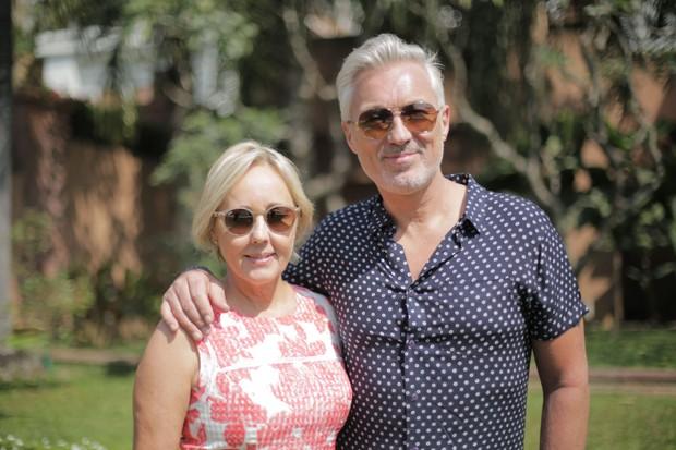 Martin Kemp (Spandau Ballet) and Shirlie Kemp (Wham!) (BBC)