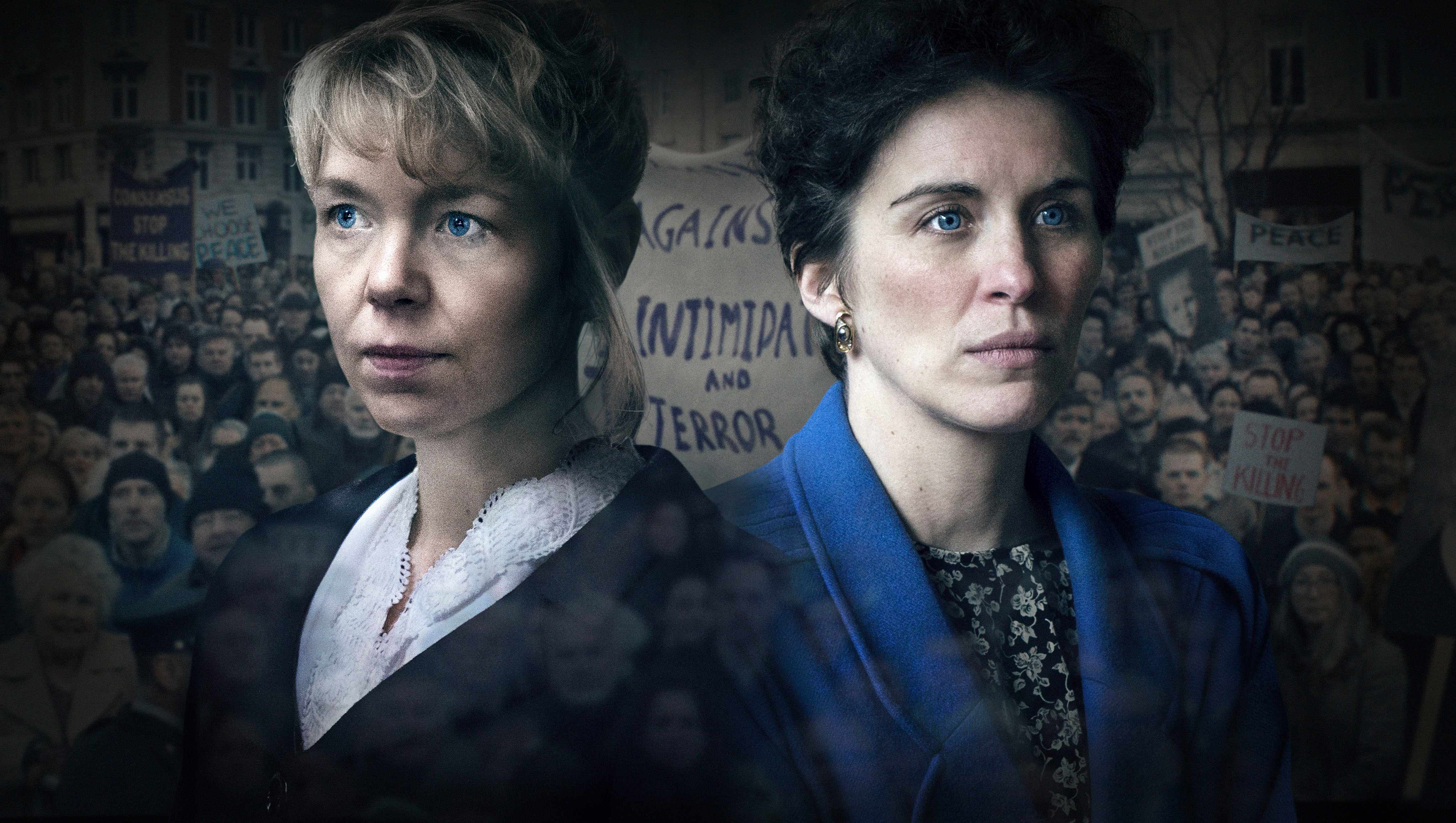 Anna Maxwell Martin and Vicky McClure, Mother's Day (BBC, EH)