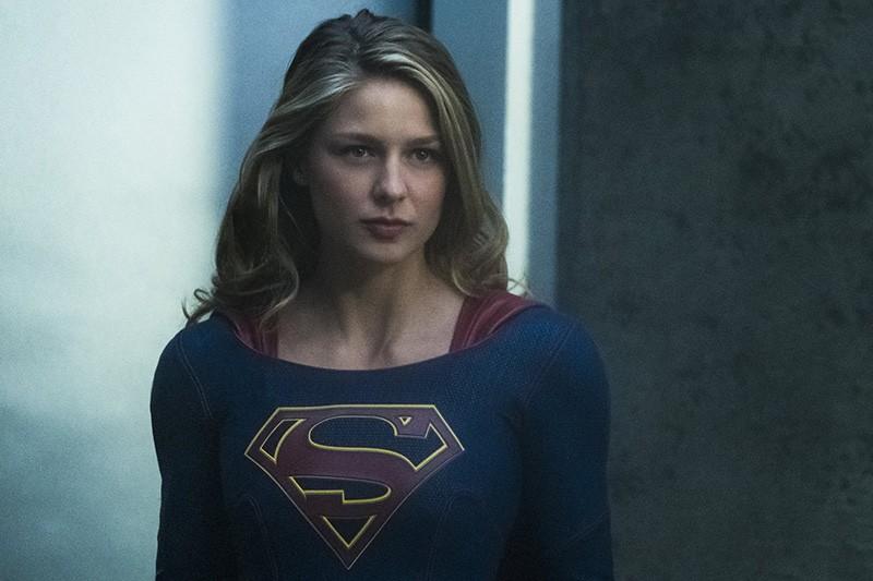 Melissa Benoist in the Supergirl TV series (Sky, HF)