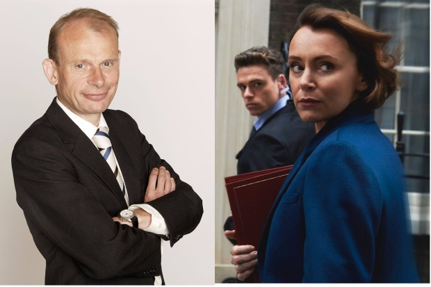 Andrew Marr and Keeley Hawes