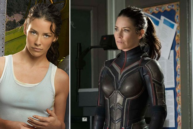 Ant-Man and the Wasp star Evangeline Lilly  and Lost