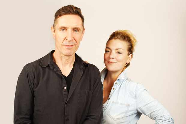 Paul McGann and Sheridan Smith (Big Finish Productions email, EH)