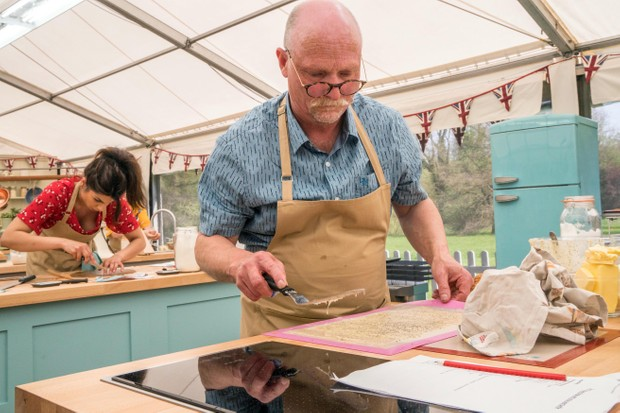 THE GREAT BRITISH BAKE OFF 2018: - Baker Terry..(STRICT EMBARGO OF 00:01 HRS TUESDAY 21 AUGUST 2018) TL