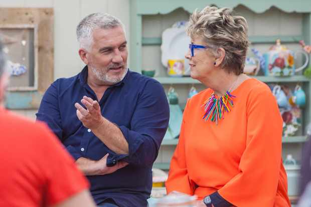 The Great British Bake Off 2018 - Paul Hollywood and Prue Leith