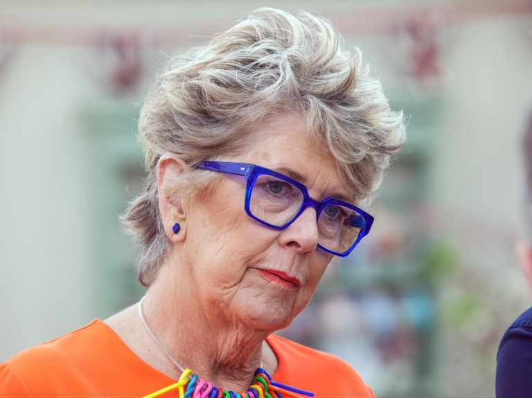 """""""Has someone confiscated Prue Leith's phone?"""" Bake Off fans are praying for no spoilers ahead of the 2018 final"""
