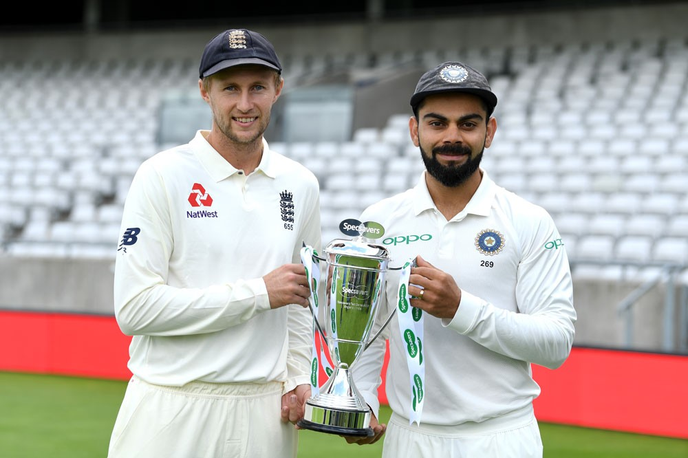 oe Root and Virat Kohli (Getty)