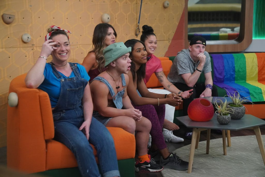 Big Brother housemates in the Big Brother house