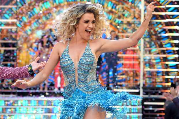 Strictly Come Dancing Ashley Roberts launch show