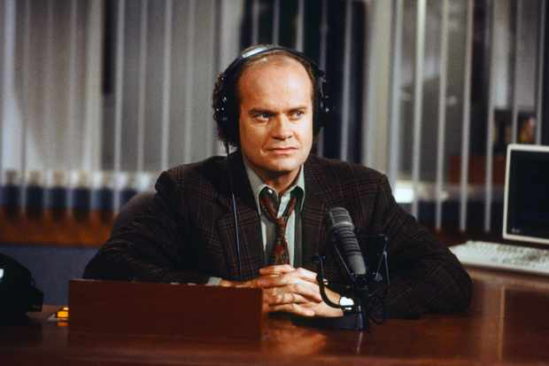 "FRASIER -- ""The Unkindest Cut of All"" Episode 2 -- Pictured: Kelsey Grammer as Doctor Frasier Crane  (Photo by Gale M. Adler/NBC/NBCU Photo Bank via Getty Images)"