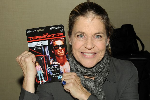 Linda Hamilton is reprising her role as Sarah Connor in the new Terminator movie (Getty)
