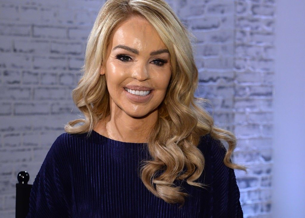 LONDON, ENGLAND - MAY 10:  Katie Piper during the Build LDN event at AOL London on May 10, 2017 in London, England.  (Photo by Anthony Harvey/Getty Images)