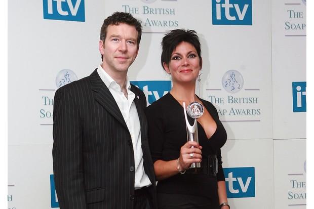 British Soap Awards - Press Room