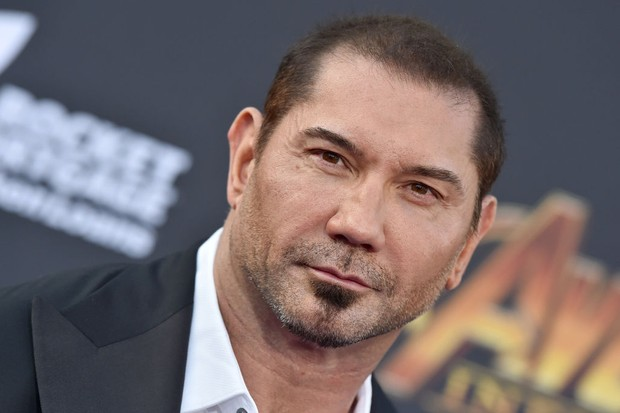 HOLLYWOOD, CA - APRIL 23:  Actor Dave Bautista attends the premiere of Disney and Marvel's 'Avengers: Infinity War' on April 23, 2018 in Hollywood, California.  (Photo by Axelle/Bauer-Griffin/FilmMagic)