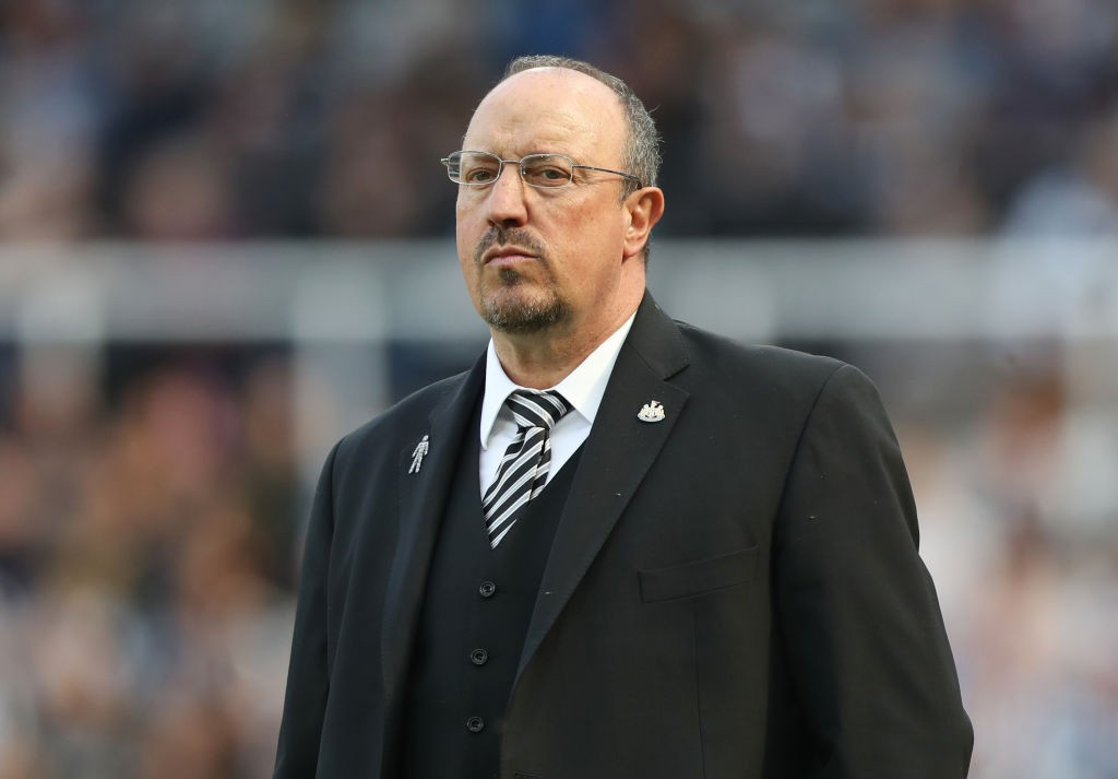 Rafa Benitez Newcastle United manager