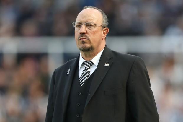 Rafa Benitez Newcastle United manager