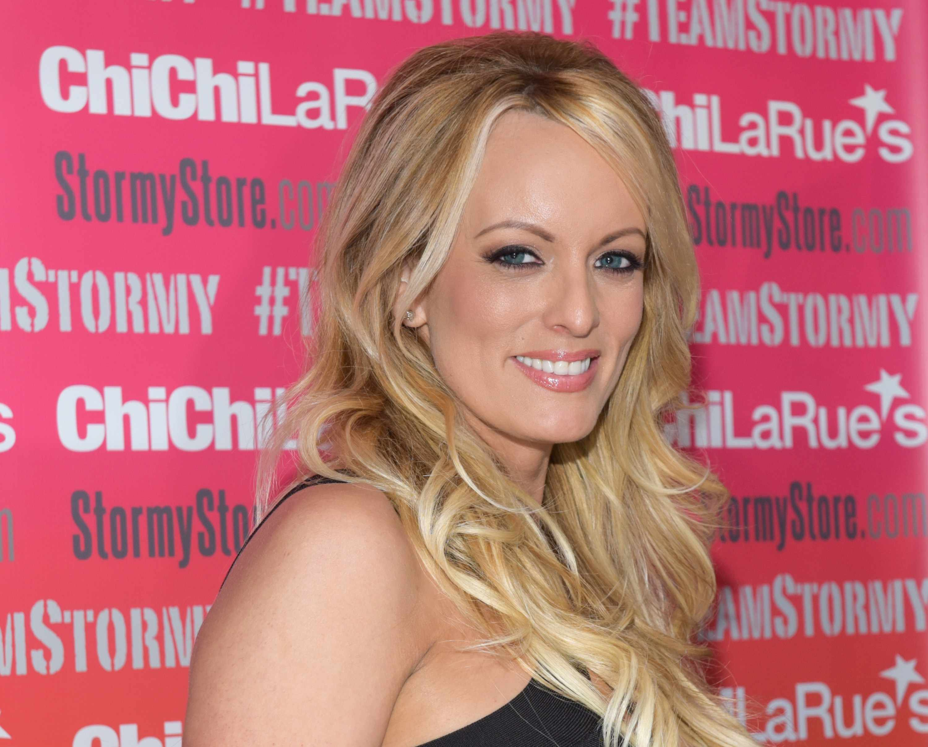 WEST HOLLYWOOD, CA - MAY 23:  Stormy Daniels attends a fan meet and greet at Chi Chi LaRue's on May 23, 2018 in West Hollywood, California.  (Photo by Tara Ziemba/Getty Images) TL